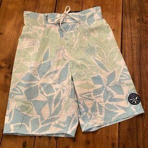 Saltlife Nautical Map Board Shorts